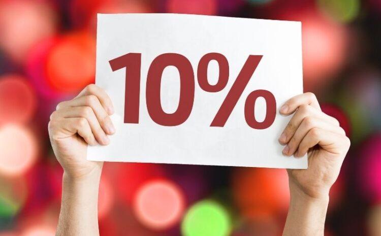 -10% na dania z karty za polubienie na FB